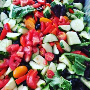 Gravylady profuel italian garbage salad