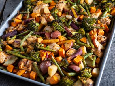 thanksgiving sheet pan